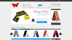 Internetowy sklep z szalikami i kocami