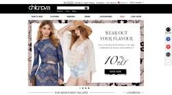 Internationaler Mode-Web-Shop
