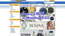 WristWatch is a great online watches store.
