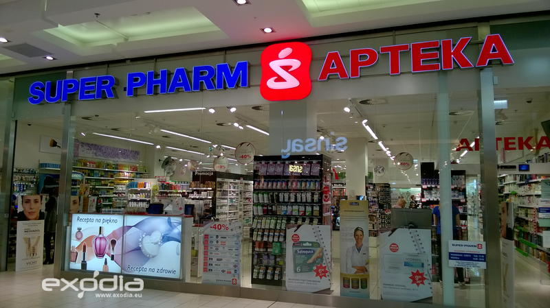 Best drug stores in Poland