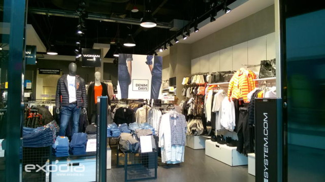 The Diverse clothes stores ale located in all Polish cities