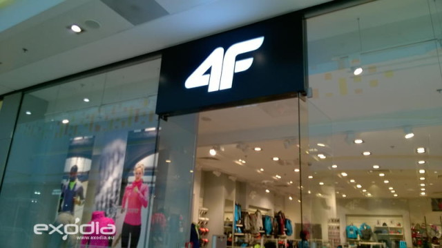 4F Sportswear is a famous clothing brand in Poland