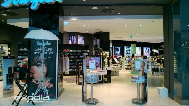 Douglas is an international perfumery and drug store chain