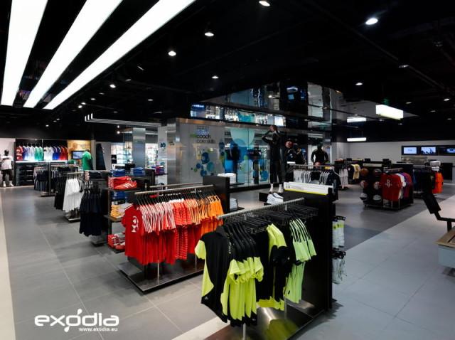 Odzież sportowa Adidas jest dostępna w wielu niemieckich sklepach