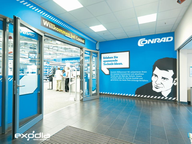 German electronics stores Conrad