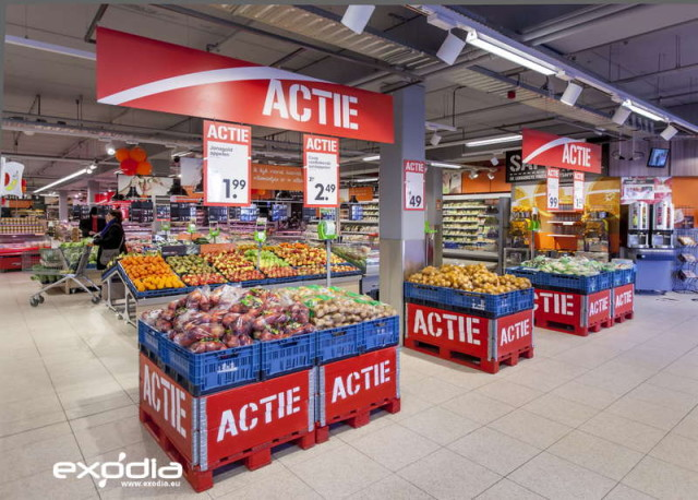 The Coop supermarket chain in the Netherlands offer a wide range of food and non-food.