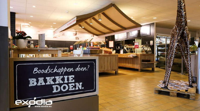 Zdrowa żywność i drogie produkty są cechą DekaMarkt.
