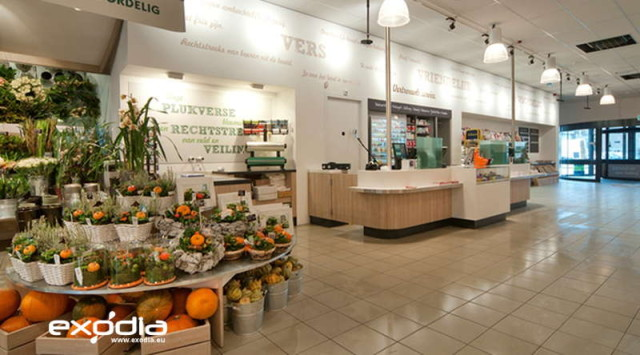The Deka Markt stores are well designed to make customers feel happy.