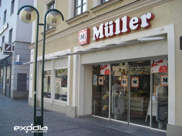 Drogerie Müller is a German drugstore chain.