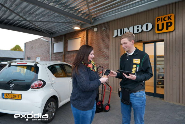 Jumbo grocery stores are spread accross the Netherlands.
