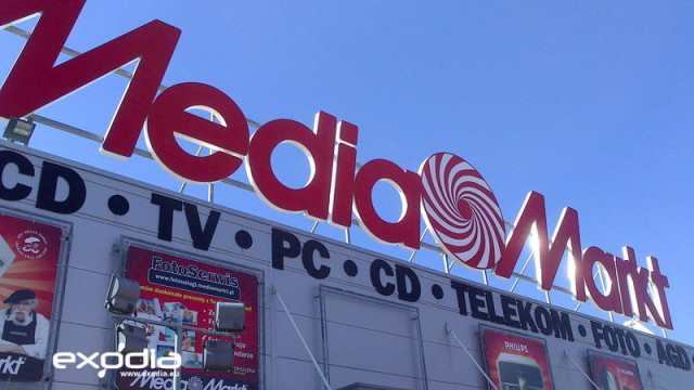 MediaMarkt electronics store chain