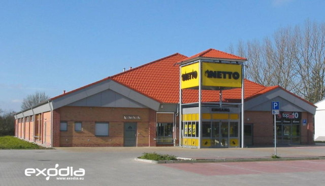 Netto grocery store in Germany