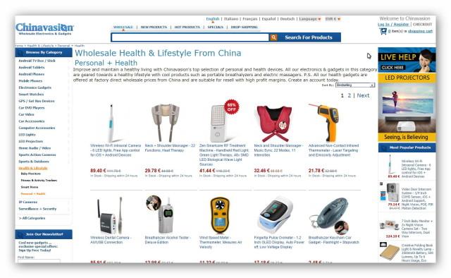 Kiedy szukamy chińskich gadżetów, znajdziemy je w internetowym centrum handlowym Chinavasion.
