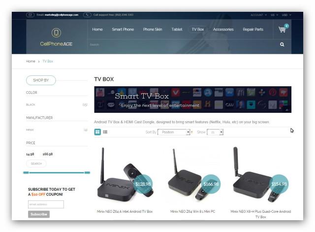 Telefony, akcesoria komputerowe i tablety znajdziemy w chińskim sklepie online Cellphoneage.