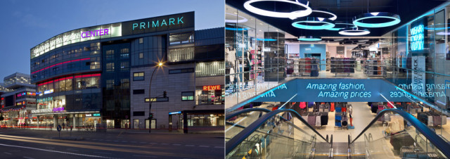 Primark store in Germany, Berlin