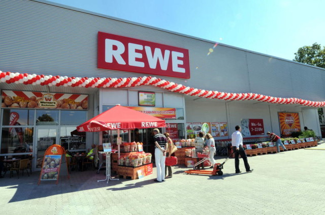 Rewe is a German grocery store