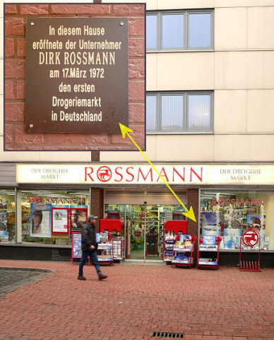 First Rossmann drugstore