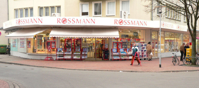 Rossmann to niemieckie sklepy kosmetyczne, drogerie