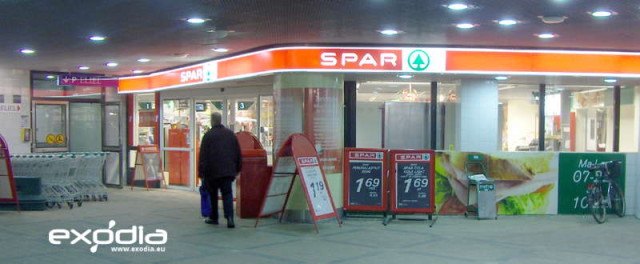 Spar is an internationally known supermarket chain from the Netherlands.
