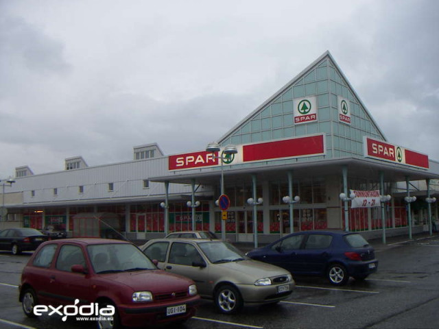 The Spar supermarkets are popular in different European countries.