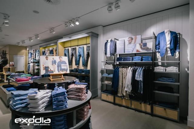 Sklepy odzieżowe Walbusch są znane w Niemczech, Austrii i Szwajcarii