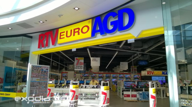 EURO RTV AGD is a electronics store in Poland