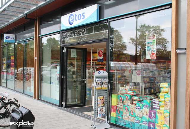 Etos drug store in the Netherlands.
