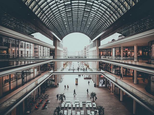 Galerie handlowe w Berlinie