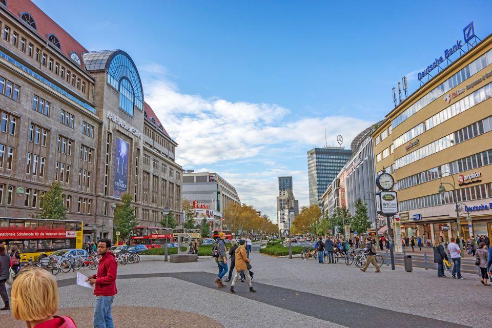 Ulice zakupowe w Berlinie