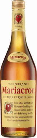 Niemiecki brandy Mariacron