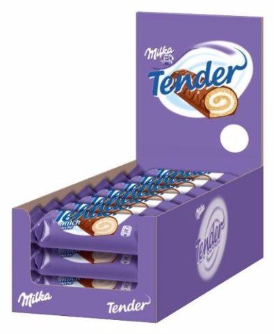 Milka Tender należy do popularnych niemieckich słodyczy