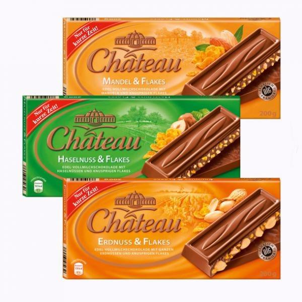 Niemieckie czekolady Chateau