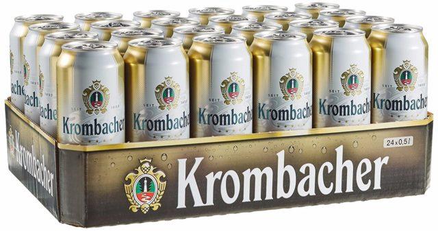 Niemieckie piwo Krombacher