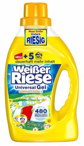Weißer Riese - niemiecki płyn do prania