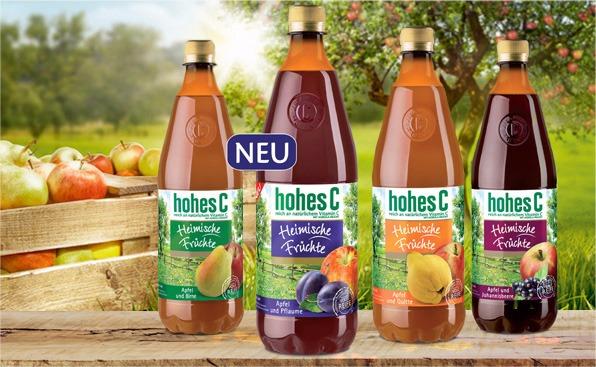 Niemieckie soki owocowe HohesC