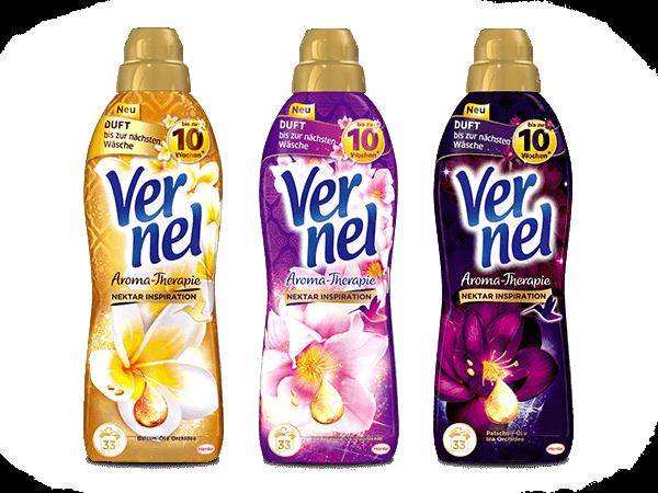 Vernel niemiecka chemia - płyn do płukania tkanin