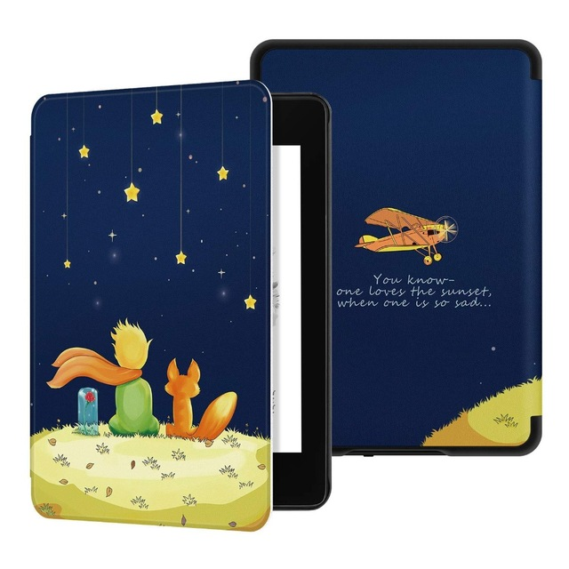 2018 nowy skrzynka dla Amazon Kindle Paperwhite 4 Smart Cover dla nowego Kindle Paperwhite 4 PU skórzane etui na tablet do Paperwhite 2018