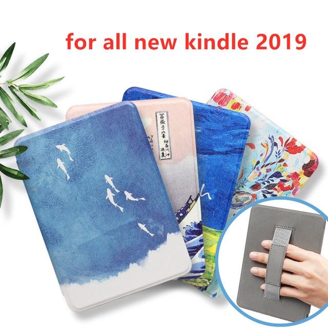 Dla wszystkich nowych Kindle 2019 przypadku, najcieńszy, najlżejszy PU inteligentne etui ze skóry dla wszystkich nowych Kindle 10th generacji 2019 wydany