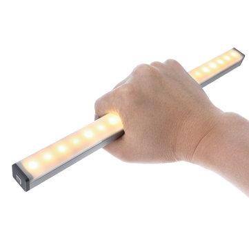 DIGOO DG-GYDC 297mm Removable Magnetic LED Human Body Sensor Light USB Charging 200lm Night Light for Living Room Bedroom Kitchen Stairs PorchHome DecorfromHome and Gardenon banggood.com