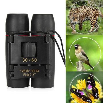 IPRee® 30x60 Folding Binocular HD Red Coated Film Lens Telescope Low Light Level Night Vision 126M/1000MCampingfromSports & Outdooron banggood.com