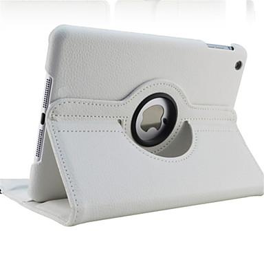 Kılıf Na Jabłko iPad Air / iPad 4/3/2 / Mini iPad 3/2/1 Obrót 360° / Z podpórką / Auto uśpienie / włączenie Pełne etui Solidne kolory Twardość Skóra PU / IPad (2017)