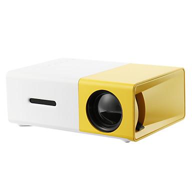 YG300 kino domowe USB USB HDMI AV SD Mini Przenośny HD LED Projektor LCD Beamer Domowy odtwarzacz multimedialny Odtwarzacz filmów Wsparcie 1080p AV USB SD Karta 320 x 240 HDMI / USB / AV / CVBS dla sz