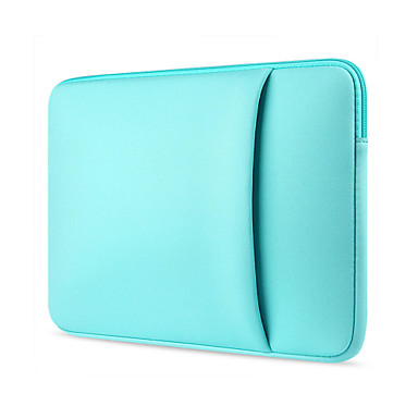 """11,6 """"13,3"""" 14 """"15,6"""" rękawy na laptopa tekstylne torby na laptopa w kolorze jednolitym dla macbook / powierzchnia / hp / dell / samsung / sony itp."""
