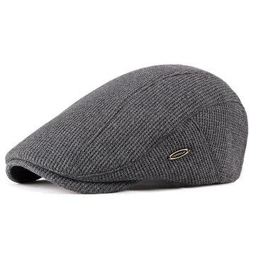Casquette béret de béret gavroche visière pour hommes cabbie lierre chapeau platAccessoires pour hommesfromVêtements & Accessoireson banggood.com