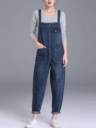 S-6XL Combinaison Combi JumpsuitGrande taillefromVêtements pour femmeson banggood.com