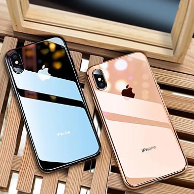 przezroczyste etui do apple iphone 11/11 pro / 11 pro max clourful margin etui na telefon etui ochronne poszycie / ultra-cienka / półprzezroczysta tylna pokrywa jednolity kolor miękki tpu